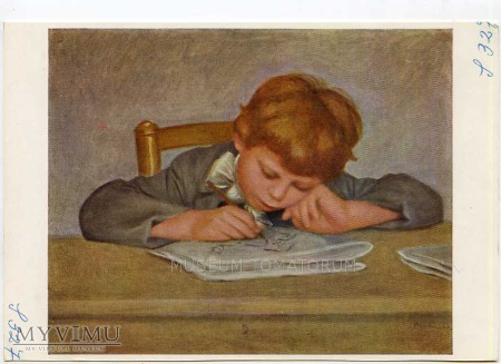 Renoir - Jean Renoir rysuje