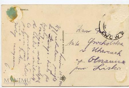 Lwów - lata 30-te - Kopiec Unii lubelskiej
