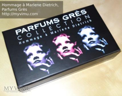 Hommage à Marlene Dietrich Parfums Grès perfumy