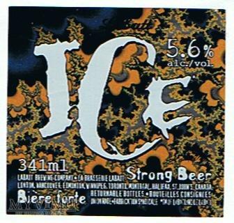 labatt ice strong beer