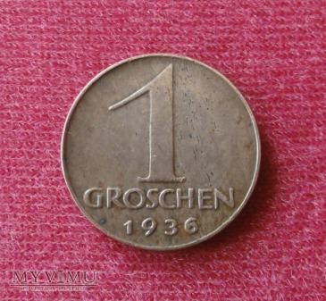 1 grosz AUSTRIA 1936