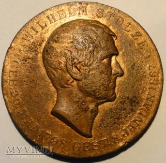 Medal Wilhelm Stolze