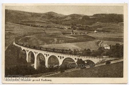 Dolny Śląsk - Kudowa wiadukt lata 40-50
