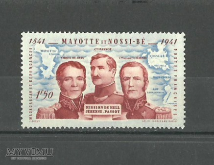Mayotte et Nossi-Be.