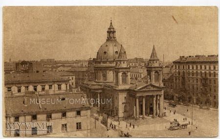 W-wa - Kościół św. Aleksandra - 1910