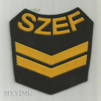 Oznaka SZEF KOMPANII MW - 3 stopnia