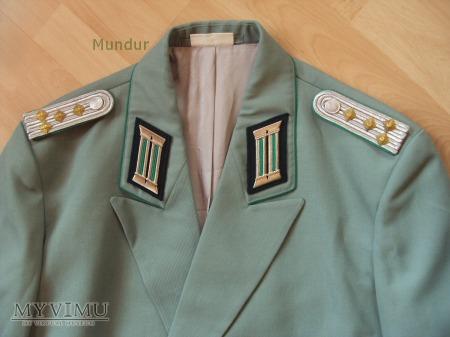 Mundur galowy oficera Volkspolizei