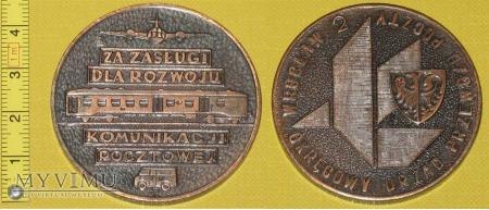 Duże zdjęcie Medal kolejowy - przewozowy Poczty Polskiej
