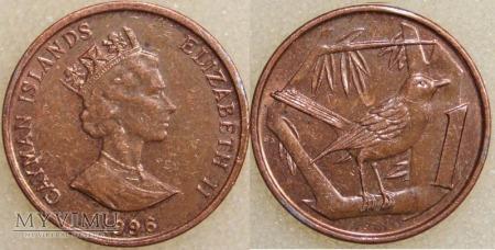 Kajmany, 1 Cent 1996
