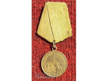 "Medal ""Za Obronę Leningradu"""