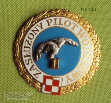 Odznaka tytułu honorowego Zasłużony Pilot Wojskowy