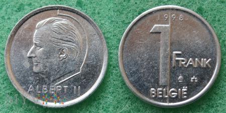 Belgia, 1 Franc 1998