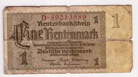Niemcy, 1 marka 1937