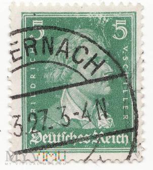 Deutsches Reich - Friedrich von Schiller 1927