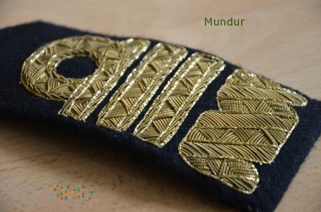 Dystynkcje MW: admirał, admirał floty