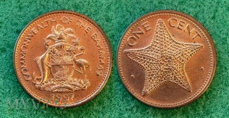 Bahamy, 1 cent 1997