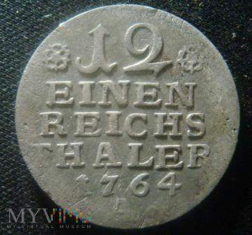 12 EINEN REICHS THALER 1764