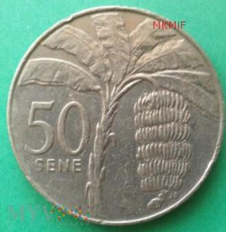 50 Sene Samoa 1996