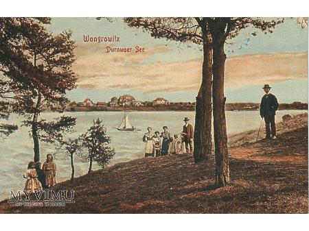 Wągrowiec jezioro Durowskie