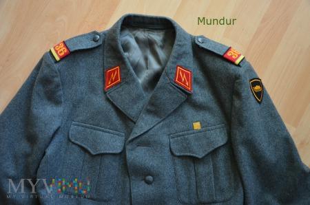 Szwajcarski mundur szeregowego łączności