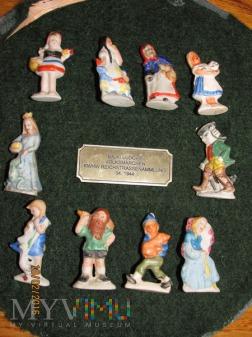 Duże zdjęcie Porcelanowe figurki z bajek ludowych -KWHW