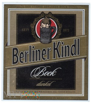 BERLINER KINDL BOCK
