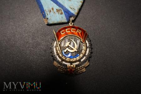 Order Czerwonego Sztandaru Pracy - ZSRR