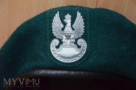Beret zielony 418/MON (termodruk)