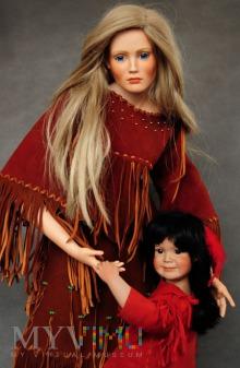 Comanche Woman Faces of the Past