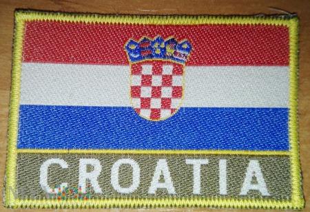 Oznaka przynależności państwowej Chorwacji