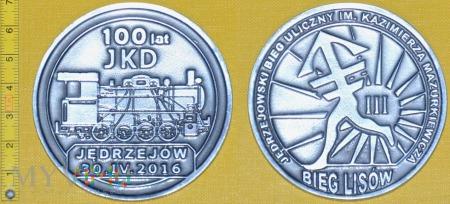 Medal kolejowy - usługowy Jędrzejowskiej KD