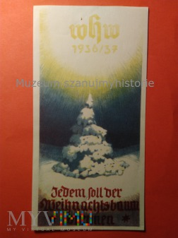 Duże zdjęcie WHW Türplaketten 1936/37