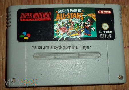 Super Mario All Stars - kartridż SNES Nintendo