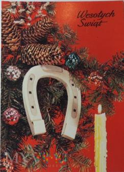 Kartka pocztowa Wesołych Świąt