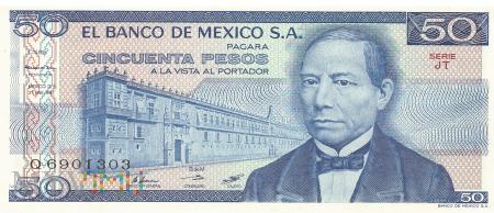 Meksyk - 50 pesos (1981)