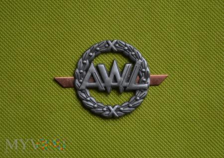 Oznaki szkolne: Akademia Wojsk Lądowych (AWL)