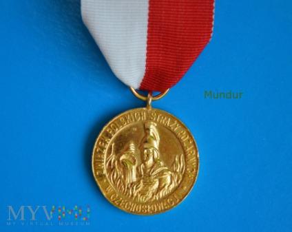 Medal X-cio lecia ZPSP w Czechosłowacji