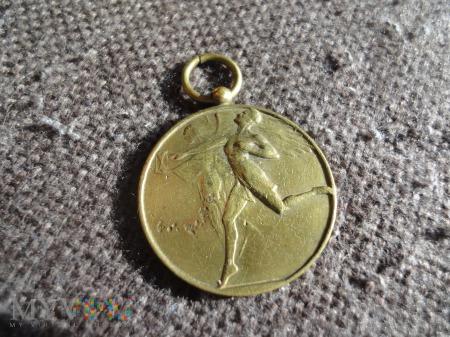 Medal wojewódzkie święto WF I PW 1929 Przemyśl