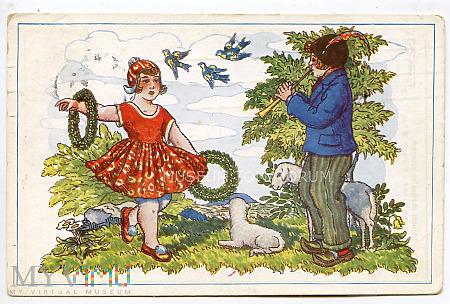 Wesołych Świąt Wielkanocnych - 1931