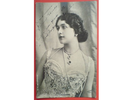 Lina CAVALIERI w Paryskim studio Reutlinger 1903