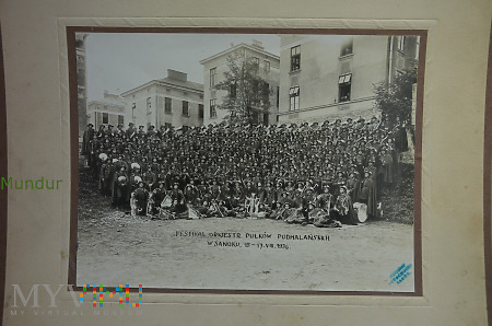 Festiwal orkiestr pułków podhalańskich -Sanok 1936