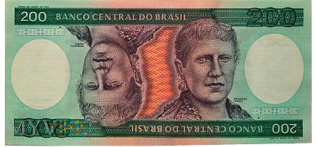 Duże zdjęcie 200 Cruzeiros - BRAZYLIA