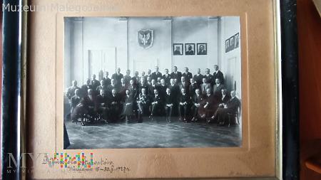 Marszałek w otoczeniu Starostów 1927 rok