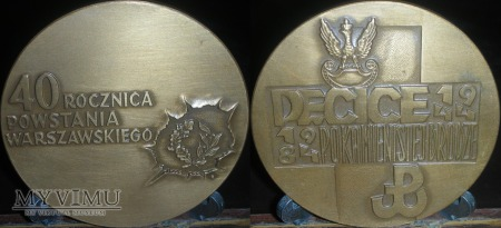 002. 40 Rocznica Powstania Warszawskiego