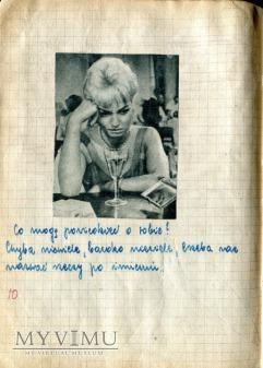 Brigitte Bardot Grace Kelly i inni scrapbooking