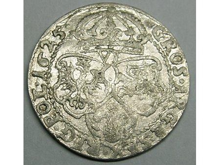 Szóstak mennica Kraków- 1625 r-rzadka