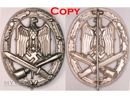 Odznaka za Szturm Ogólny, General Assault Badge