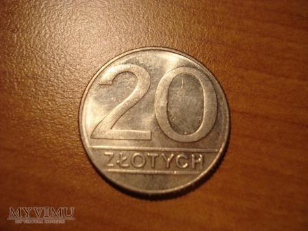 20 ZŁ zbiór 7 monet