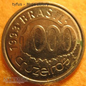1000 CRUZEIROS - Brazylia (1993)