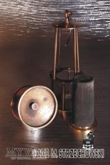 Lampa górnicza benzynowa Friemann & Wolf